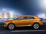 Volkswagen CrossBlue Coupé 2013 wallpapers