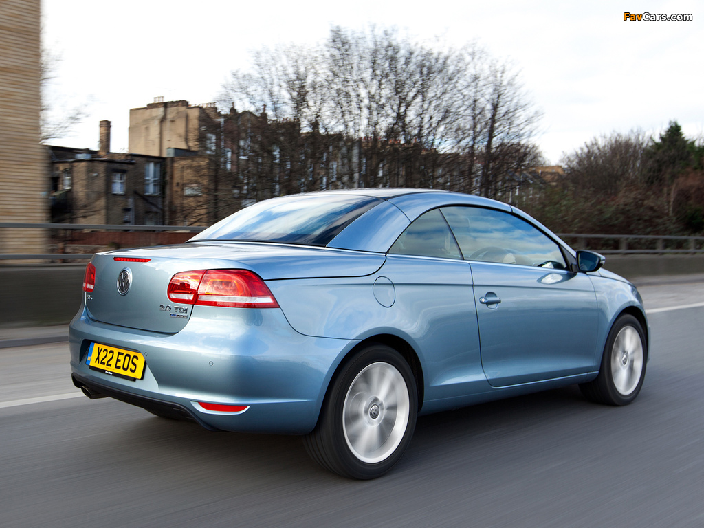 Volkswagen Eos UK-spec 2011 pictures (1024x768)