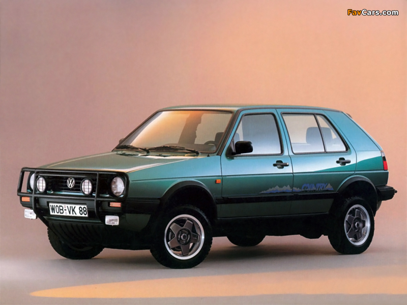 Images Of Volkswagen Golf Country Typ 1g 1990 91 800x600