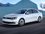 Photos of Volkswagen Jetta Hybrid US-spec (Typ 1B) 2012