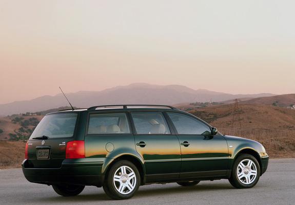 Volkswagen Passat Wagon B5 1997 2000 Photos 1024x768