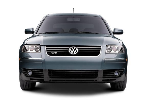 Volkswagen Passat W8 Sedan Us Spec B5 2002 04