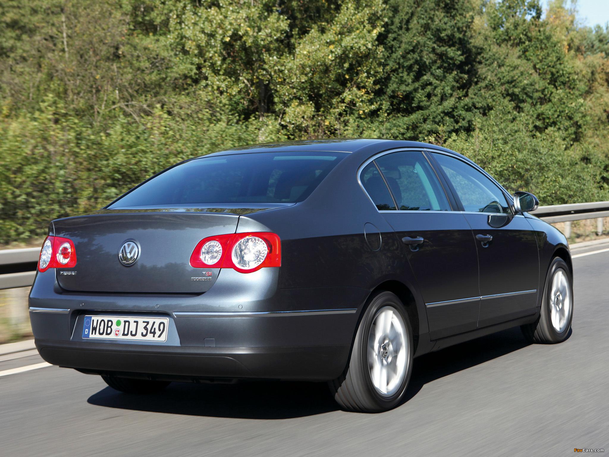 Volkswagen Passat EcoFuel Sedan (B6) 2009–10 pictures ...