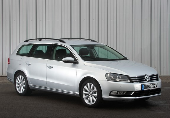 volkswagen passat bluemotion variant uk spec b7 2010 wallpapers. Black Bedroom Furniture Sets. Home Design Ideas