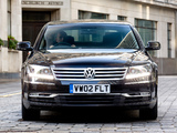 Volkswagen Phaeton V6 TDI UK-spec 2010 wallpapers