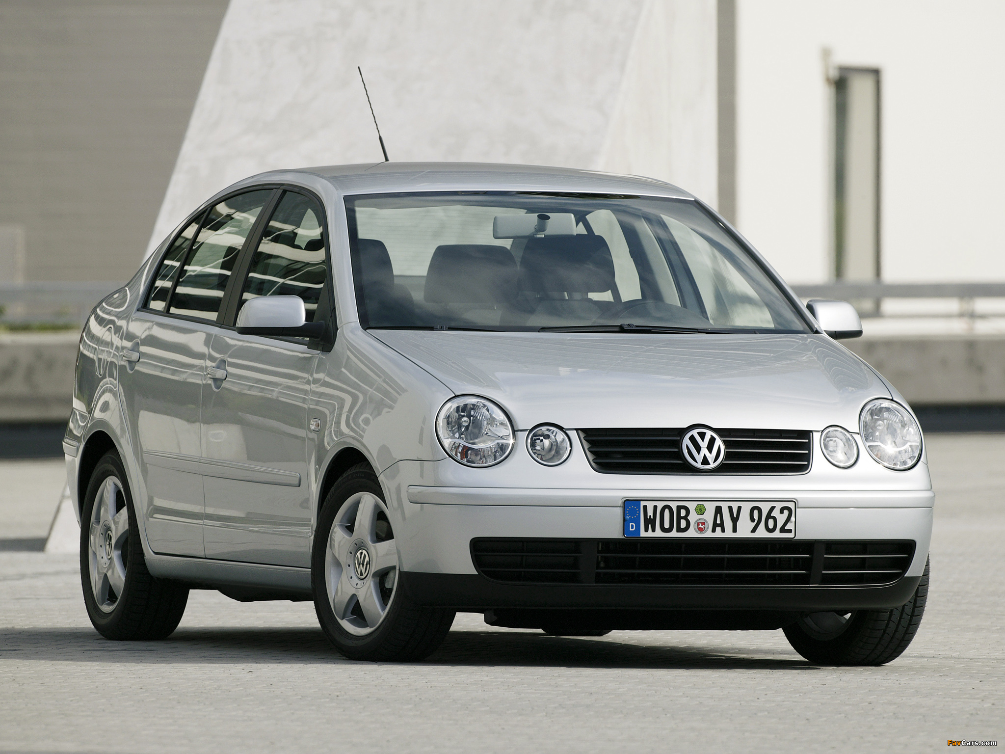 Volkswagen Polo Classic (IV) 2002–05 images (2048 x 1536)