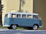 Images of Volkswagen T1 Deluxe Bus 1963–67
