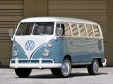 Pictures of Volkswagen T1 Deluxe Bus 1963–67
