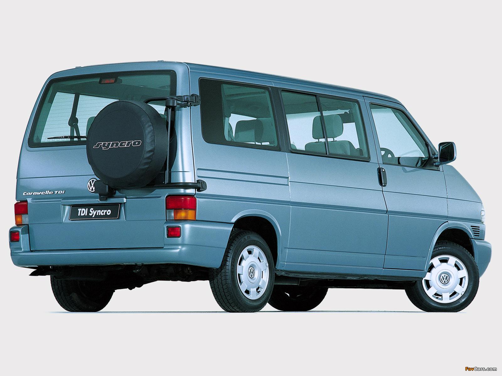 Volkswagen T4 Caravelle Tdi Syncro Za Spec 1999 2003