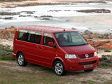 Images of Volkswagen T5 Caravelle ZA-spec 2003–09