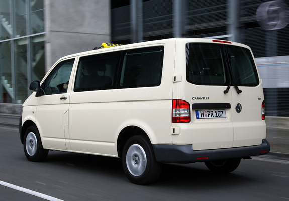 Volkswagen T5 Caravelle Taxi 2009 Pictures 800x600
