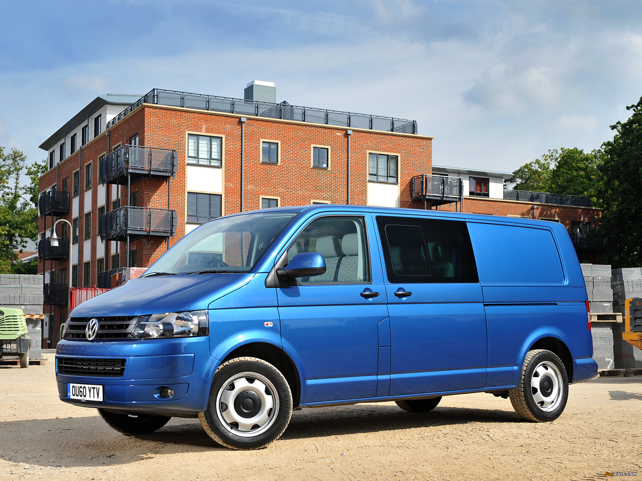 volkswagen t5 transporter combi uk spec 2010 wallpapers 2048x1536. Black Bedroom Furniture Sets. Home Design Ideas