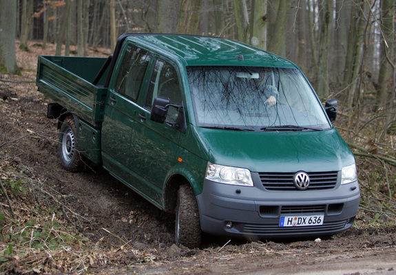 Wallpapers Of Volkswagen T5 Transporter Double Cab Pickup