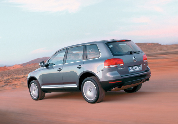 Wallpapers Of Volkswagen Touareg V10 Tdi 2002 07 1600x1200