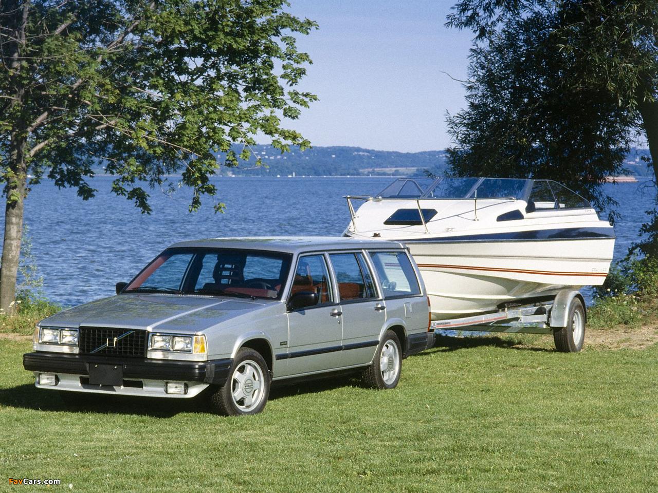 Pictures of Volvo 740 Turbo Kombi US-spec 1985–90 (1280 x 960)