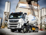 Pictures of Volvo FM 370 8x4 Mixer UK-spec 2010–13