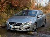 Volvo V60 D6 Plug-In Hybrid UK-spec 2012–13 images