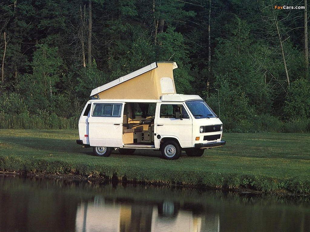 images of volkswagen t3 vanagon camper by westfalia 1982. Black Bedroom Furniture Sets. Home Design Ideas