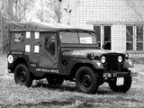 Images of Willys M170 Jeep Ambulance 1953–63