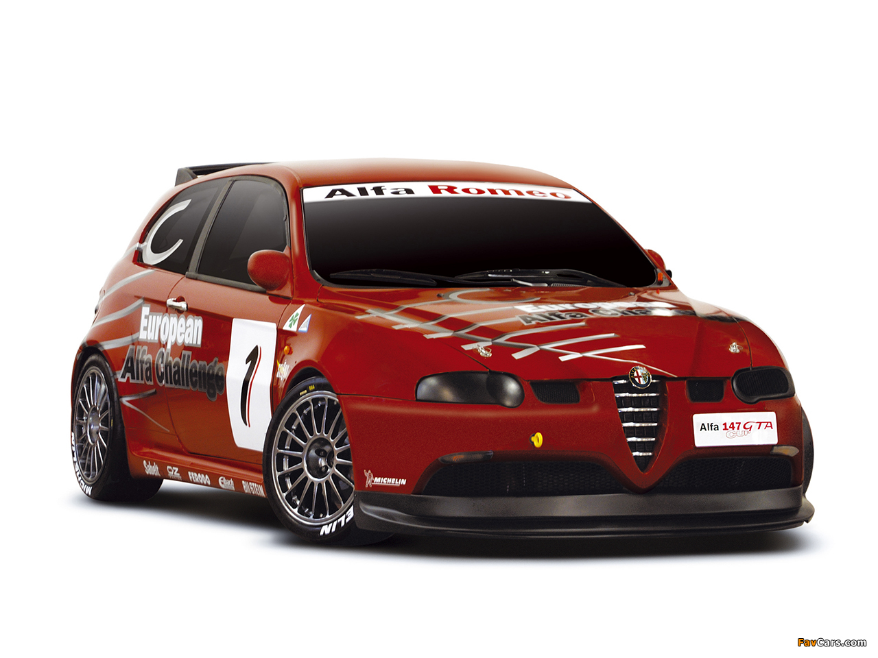 Alfa Romeo 147 Gta Cup Se092 2003 2005 Wallpapers 1280x960