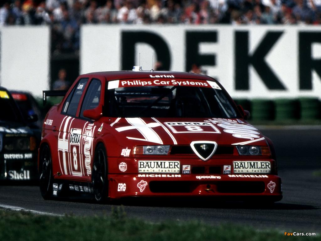 Photos Of Alfa Romeo 155 2 5 V6 Ti Dtm Se052 1993 1024x768