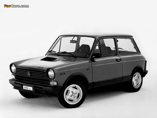 Autobianchi A112 Abarth 5 Serie (1979–1982) images (640 x 480)