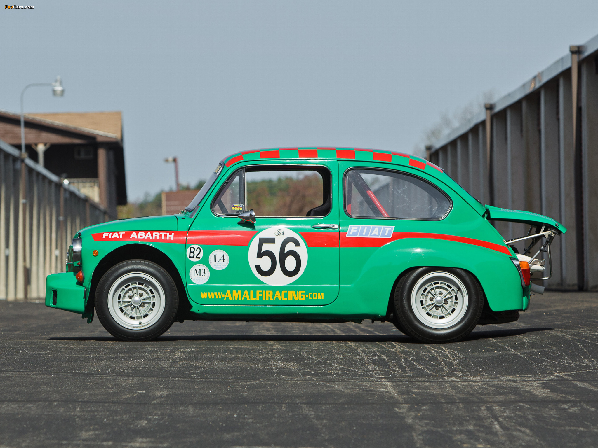 Abarth Fiat 1000 TCR Gruppo 2 (1970) pictures (2048 x 1536)