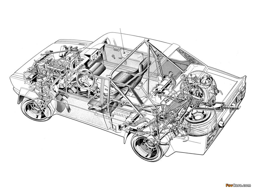 Fiat Abarth 131 Rally Corsa (1976–1981) photos (1024 x 768)