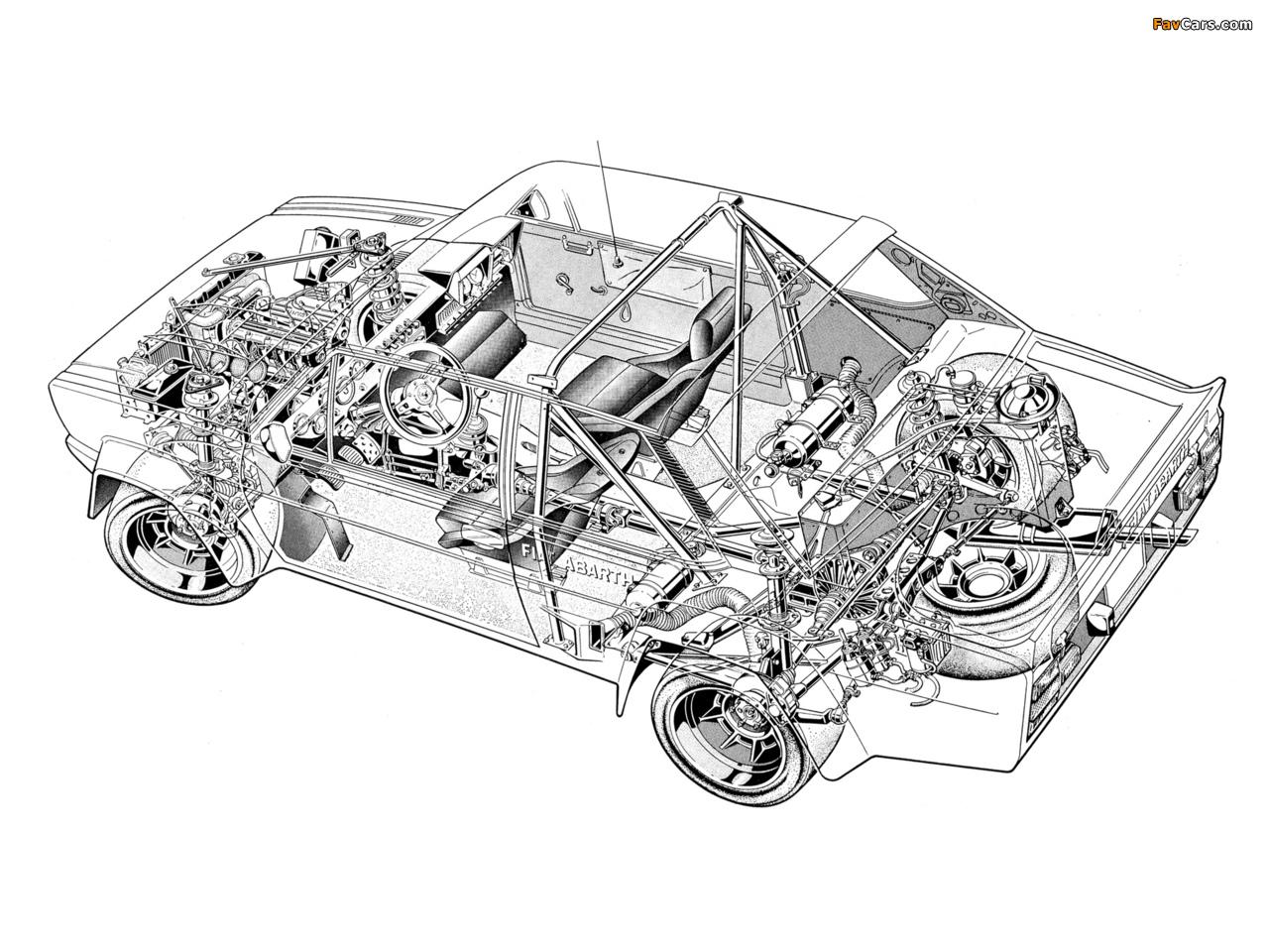 Fiat Abarth 131 Rally Corsa (1976–1981) photos (1280 x 960)