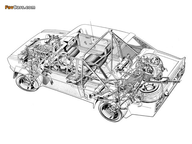 Fiat Abarth 131 Rally Corsa (1976–1981) photos (640 x 480)