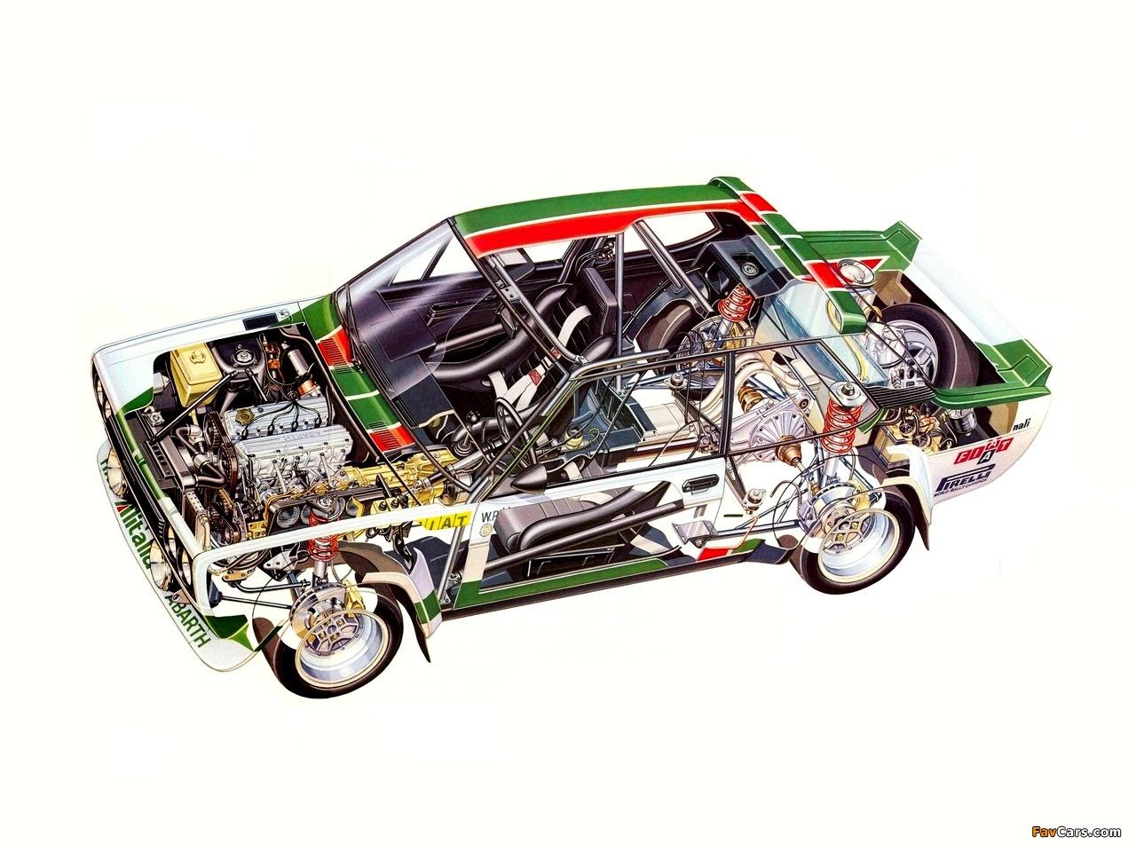 Fiat Abarth 131 Rally Corsa 1976 1981 Photos 1280x960