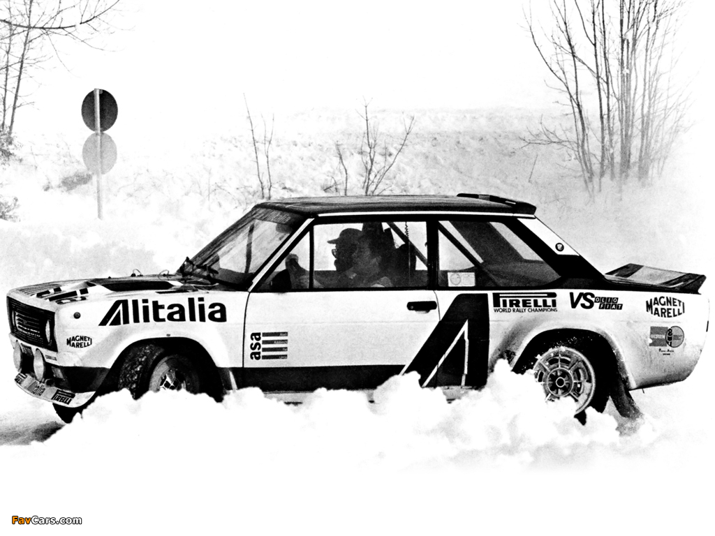 Fiat Abarth 131 Rally Corsa (1976–1981) pictures (1024 x 768)