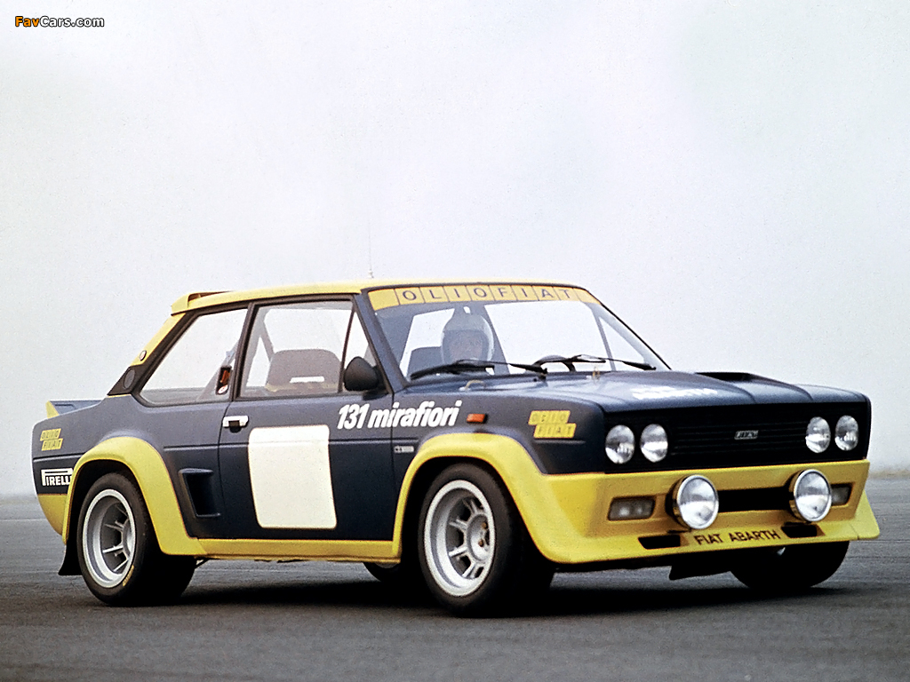 Fiat Abarth 131 Rally Corsa 1976 1981 Images 1024x768