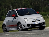 Abarth 500 Opening Edition (2008) wallpapers
