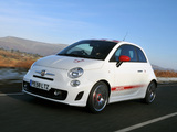 Abarth 500 UK-spec (2009) pictures