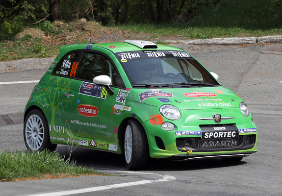 Abarth 500 R3t 2009 Wallpapers