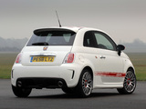 Abarth 500 UK-spec (2009) wallpapers