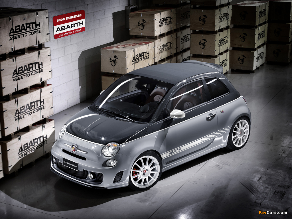 Abarth 500C esseesse (2010) wallpapers (1024 x 768)
