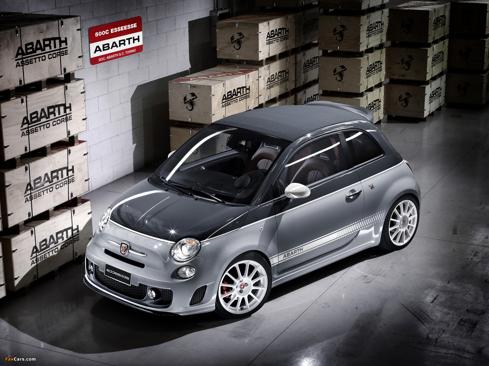 Abarth 500C esseesse (2010) wallpapers (1600 x 1200)