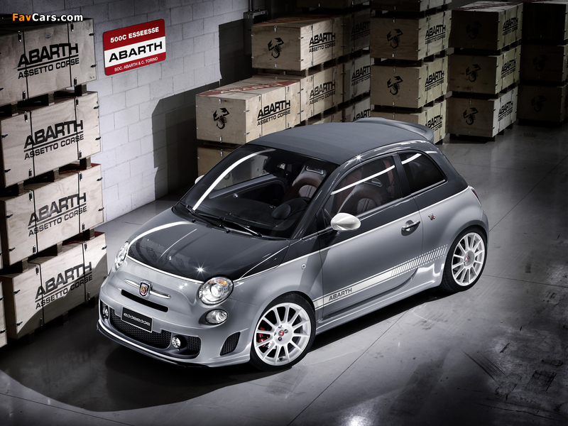 Abarth 500C esseesse (2010) wallpapers (800 x 600)