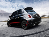 Fiat 500 Abarth US-spec (2012) photos