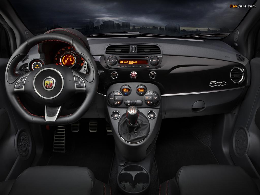 Fiat 500 Abarth US-spec (2012) pictures (1024 x 768)