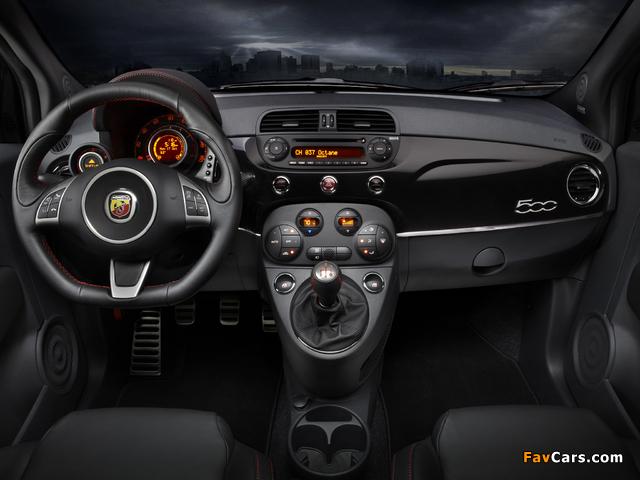 Fiat 500 Abarth US-spec (2012) pictures (640 x 480)