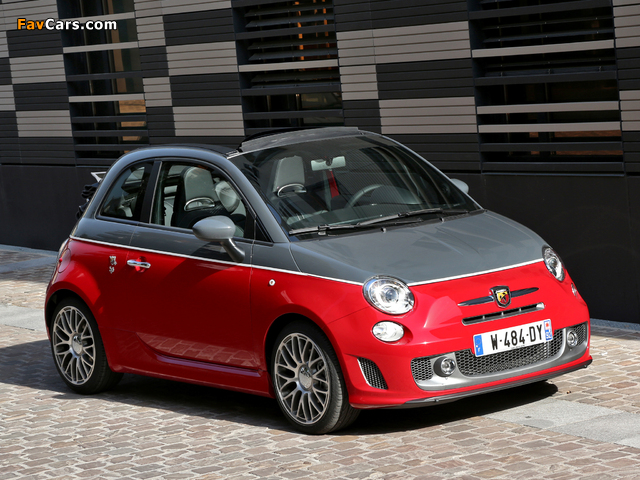 Abarth 595C Turismo (2012) wallpapers (640 x 480)