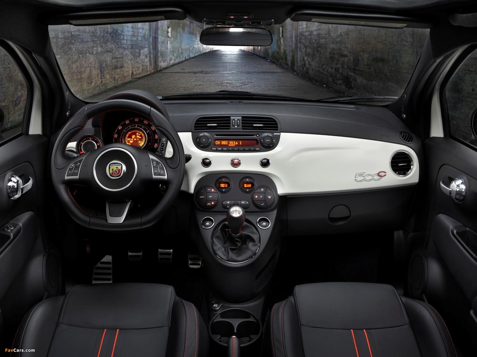 Fiat 500C Abarth US-spec (2013) pictures (1600 x 1200)