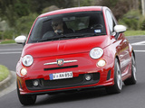 Images of Abarth 500 esseesse AU-spec (2011)
