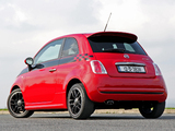 Images of Fiat 500 TwinAir by Abarth UK-spec (2012)