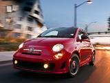 Images of Fiat 500 Abarth US-spec (2012)