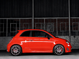Photos of Abarth 695 Tributo Ferrari ZA-spec (2012)