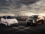 Photos of Fiat 500 Abarth US-spec (2012)